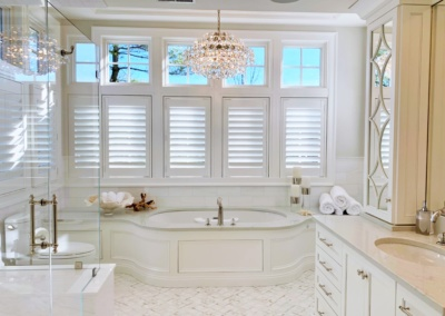 Gorgeous Bathroom Renovation with Marble Highlights